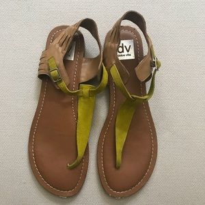 DOLCE VITA | Sandals with Yellow Strap